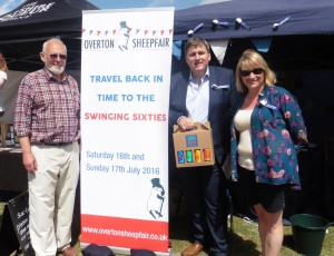 Kit Malthouse visits Sheepfair Stall